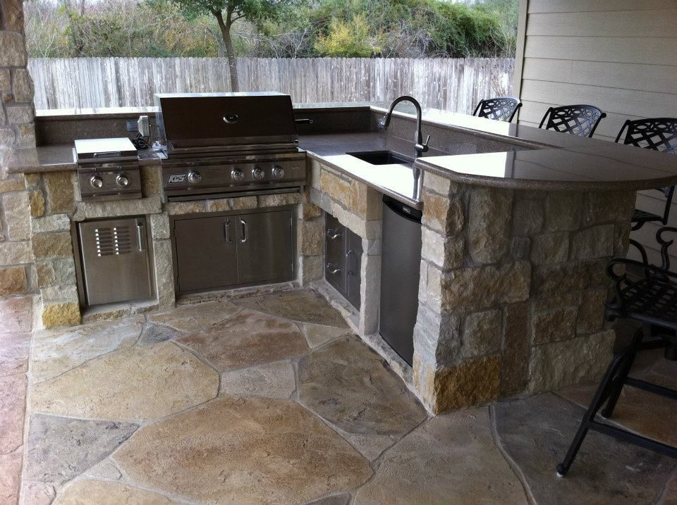 outdoor kitchen installation services in tucson